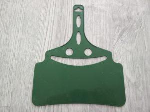 веер опахало для мангала пластиковый маленький