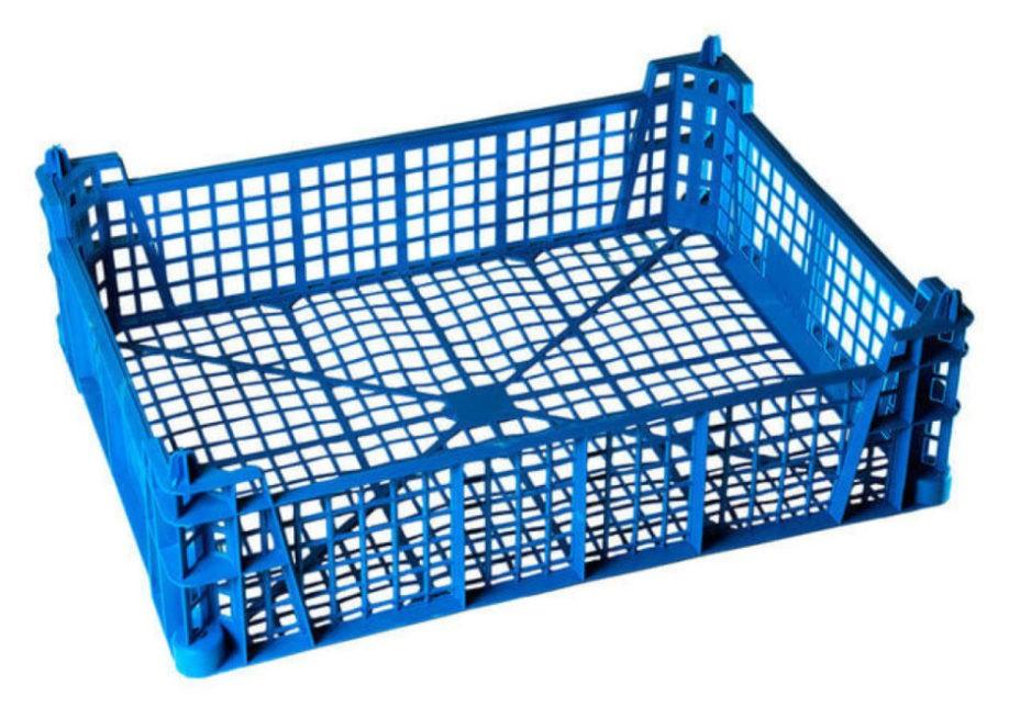 Ящик пластиковый 400х300х110 мм для грибов.