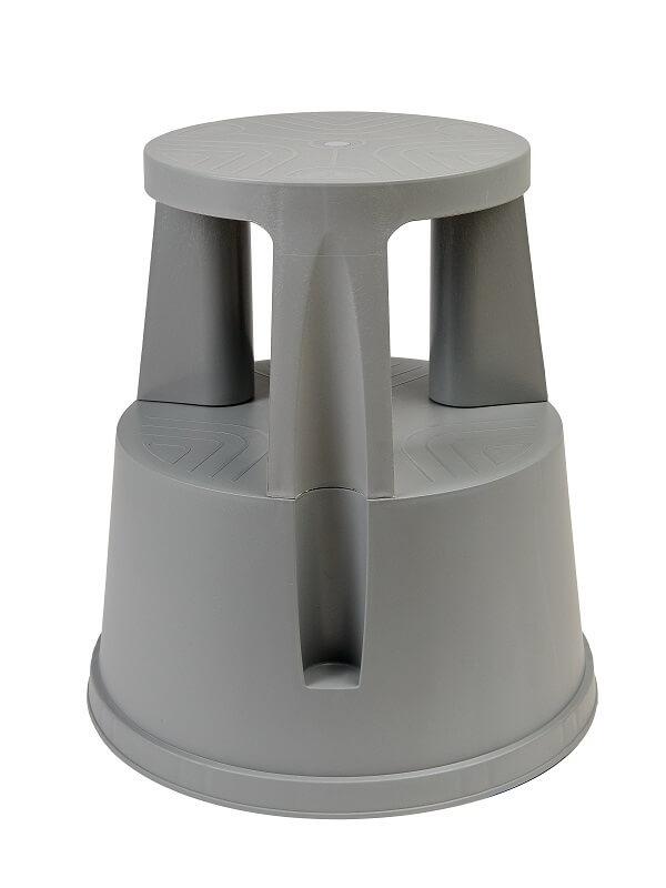 Табурет тумба (стремянка) на роликах пластиковая